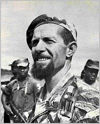 El combatiente portugués Francisco Daniel Roxo