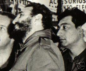 Fidel Castro y Arnaldo Ochoa, en los primeros años de la revolución cubana