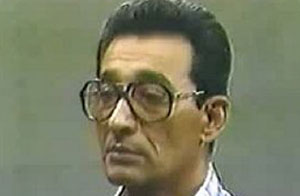 El general Arnaldo Ochoa, durante la fase final del juicio, en julio de 1989