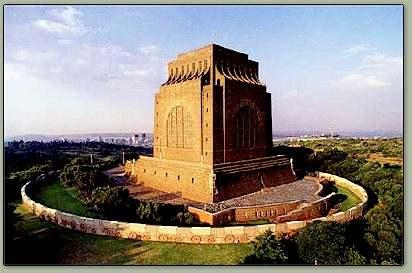 Monumento Voortrekker en Pretoria
