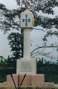 Monumento al Tratado de Simulambuco entre Portugal y Cabinda