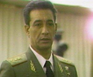 El general de división Arnaldo Ochoa, ejecutado el 13 de julio de 1989